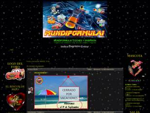 mundiformula1 con coches y diversion