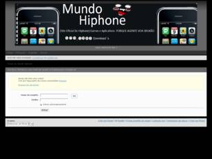 Forum do mundo hiphone[OFICIAL]
