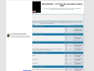 MuscuPassion - Le forum de musculation