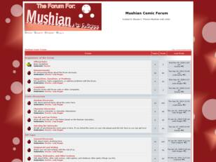 Mushian Comic Forum