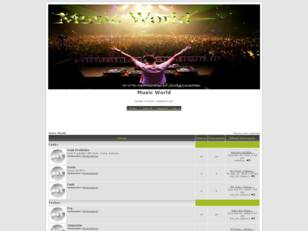 Forum gratis : Welcome to the Music World!