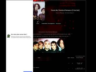 Forum My Chemical Romance [FrAnCaIs]