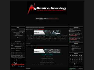 MyDesire.Gaming Official Website