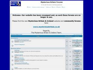 Mysterious Britain Forums