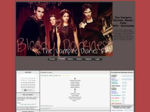 The Vampire Diaries Rollenspiel/ RPG