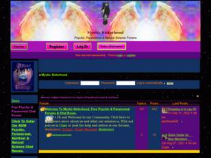 Mystic Sisterhood - Psychic , Paranormal & Metaphysical Forum
