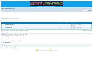 Myxed Up Creations Ideas of the Month