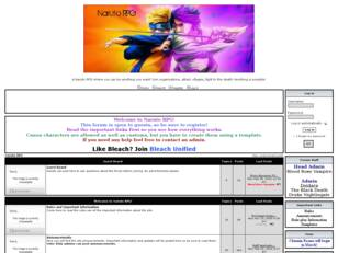 Naruto RPG: Home Page