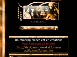 creer un forum : Naruto-Shinobi-World