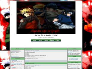 Free forum : Naruto life or death