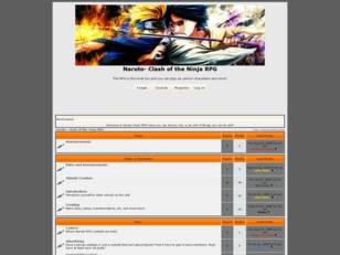 Free forum : Naruto- Clash of the Ninja RPG