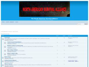 Free forum : The North American Survival Alliance