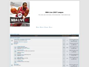 NBA Live 2007 League