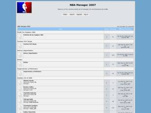 Foro gratis : NBA Manager 2007