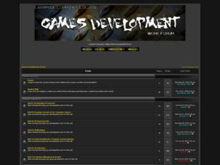 Games Development Forum