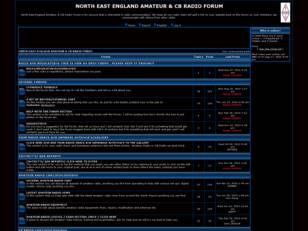 North East England Amateur & CB Radio Forum - Amateur Radio Forum