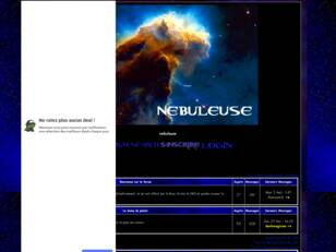 creer un forum : nebuleuse