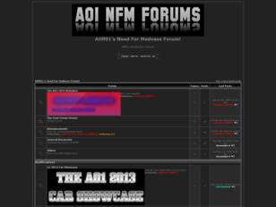 Aliff01's Need For Madness Forum!