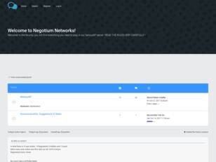 Welcome to Negotium Networks!