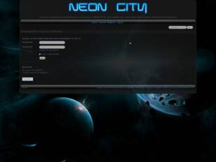 The Official Neon City Forum