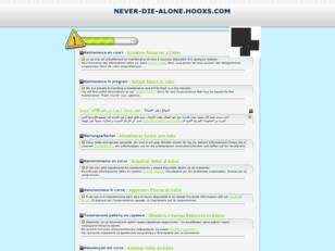 Dofus guilde Never Die Alone