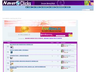 Forum NeverClick - Make Money Online - RefBack Offers