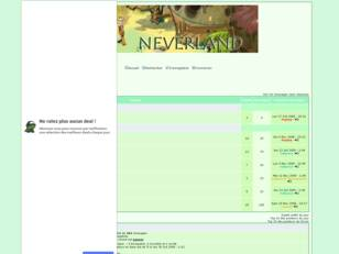 Forum Officiel de la Guilde -> NeverLand Sur Djaul