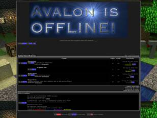Free forum : Avalon Minecraft Server