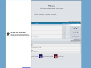 creer un forum : Ultimate