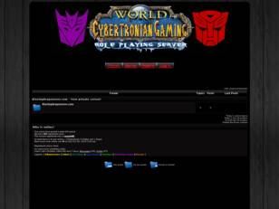 Cybertronian Gaming Forums