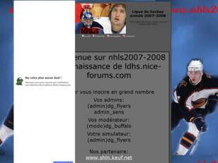 Forum gratuit : Ligue de hockey simule 2007-2008