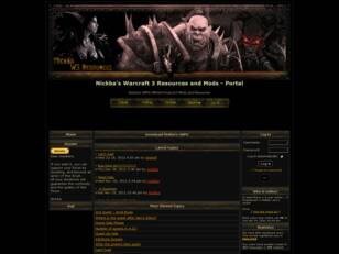 Nickba's Warcraft 3 Mods forum