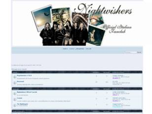Nightwishers Italian Fanclub FORUM