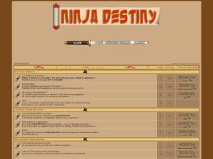 creer un forum : Ninja Destiny