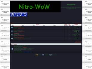 Welcome To Nitro-WoW Forum !