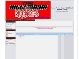 Studio Nitti Music Records Forum