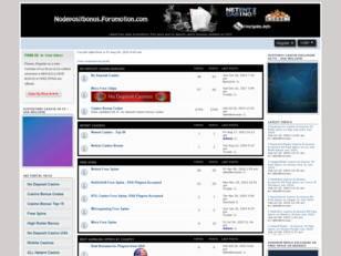 No deposit bonus forumotion online gambling pokies