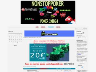 NonStopPoker Le Forum de Poker en France