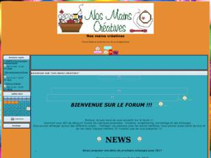 creer un forum : Nos mains creatives