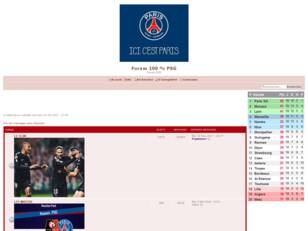 FORUM 100% PSG PARIS