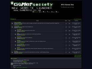 NTU Gamer Soc Forums