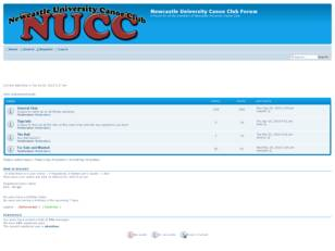 Free forum : Newcastle University Canoe Club Forum