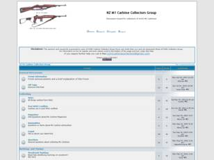 NZ M1 Carbine Collectors Group