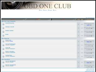 Obd One Club Automotive Performance Forums