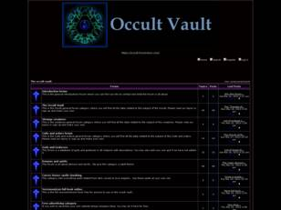 The occult night forum