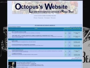 Le Forum d'Octopus's Website