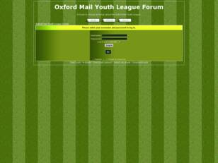 Oxford Mail Boys League Forum