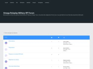 Omega Roleplay Military RP Forum