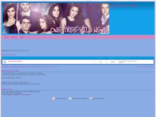 Forum gratis : One Tree Hill News Forum
