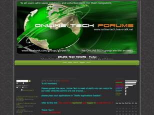 ONLINE-TECH FORUMS